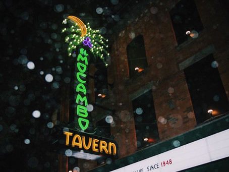 It's back: The El Mocambo will be lighting up those neon palms once again