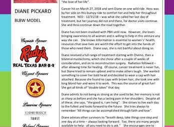 MEET THE MODEL - DIANE PICKARD