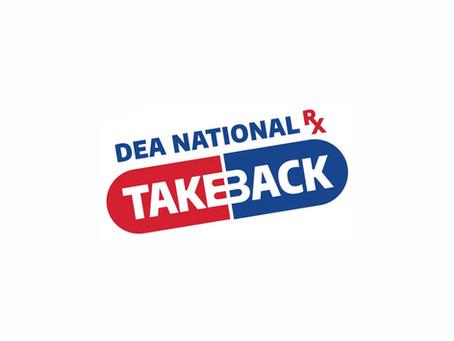 DEA National Pharmaceutical Take Back Initiative 2021