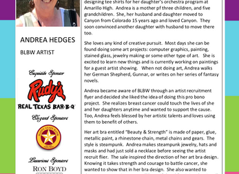MEET THE ARTIST - ANDREA HEDGES