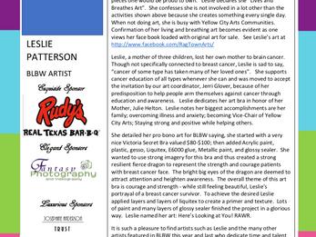 MEET THE ARTIST - LESLIE PATTERSON