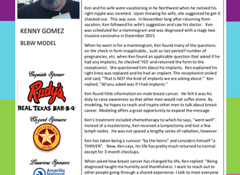 MEET THE MODEL - KENNY GOMEZ