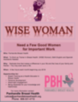 PBH WISE Woman Program