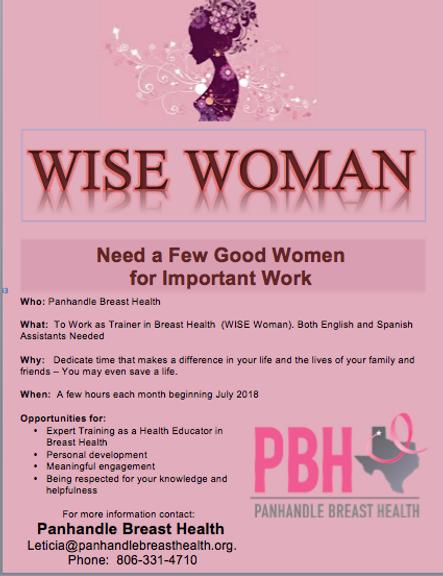 PBH WISE Woman Program