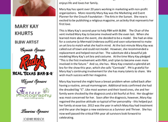 MEET THE ARTIST - MARY KAY KHURTS