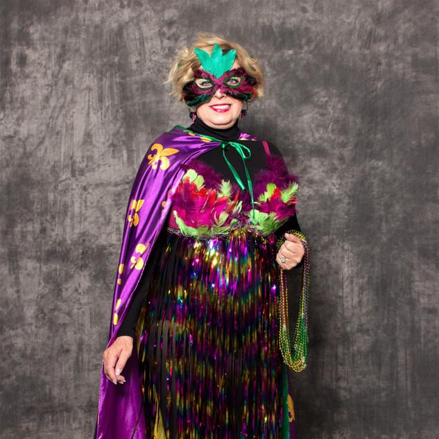 MODEL: Karron Smith BRA: Carnivale ARTIST: Mary Kay Khurts