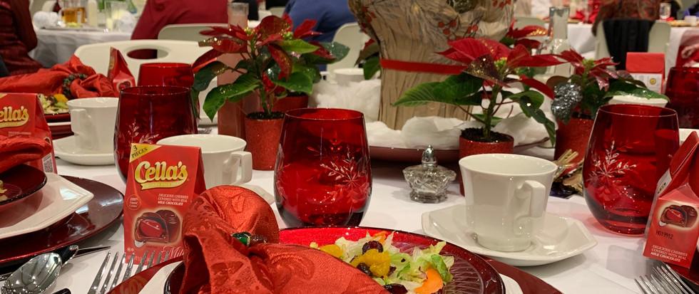 ABG Poinsettia Luncheon
