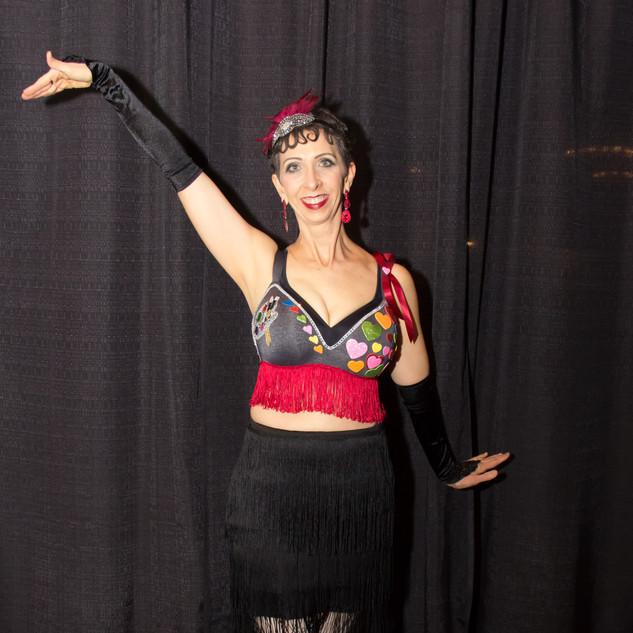 MODEL: Nancy Hinders BRA: Love Flapper Style ARTIST: Becky Castlebarry