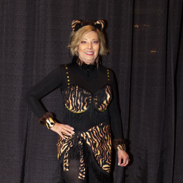 MODEL: Karron Smith BRA: Fight Like a Tiger ARTIST: Ladonna Spinks