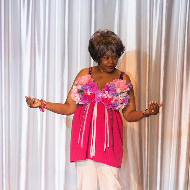 MODEL: Betty Nickerson BRA: Bloom On ARTIST: Rhonda Glover