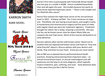 MEET THE MODEL - KARRON SMITH