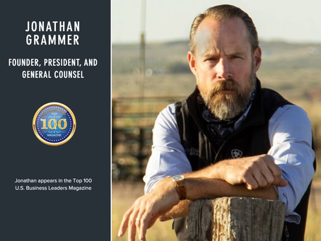 The Top 100 Magazine Features Jonathan Grammer on its A-List of Men to Watch