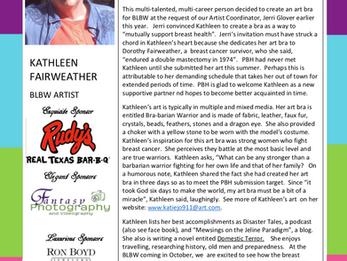 MEET THE ARTIST - KATHLEEN FAIRWEATHER