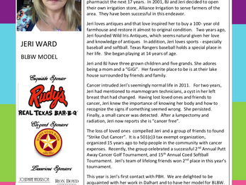MEET THE MODEL - JERI WARD