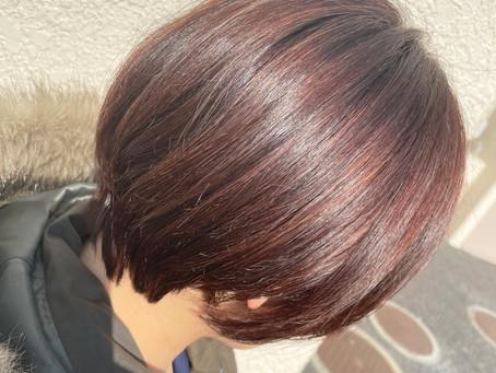 明るい白髪染め【7】