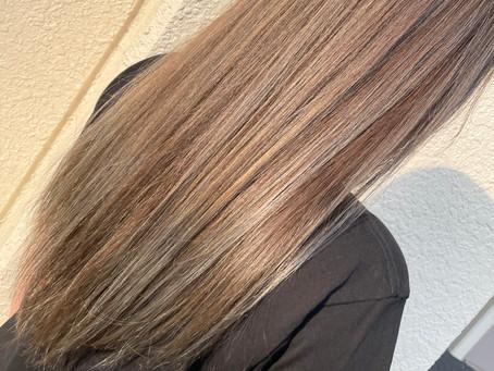 髪質改善!!艶、ハリをプラス「酸熱トリートメント」