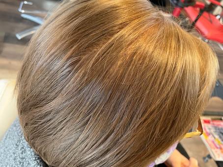明るい白髪染め【4】