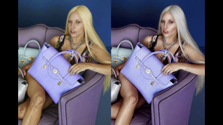 Celebrities Commercial Retouching Lady Gaga