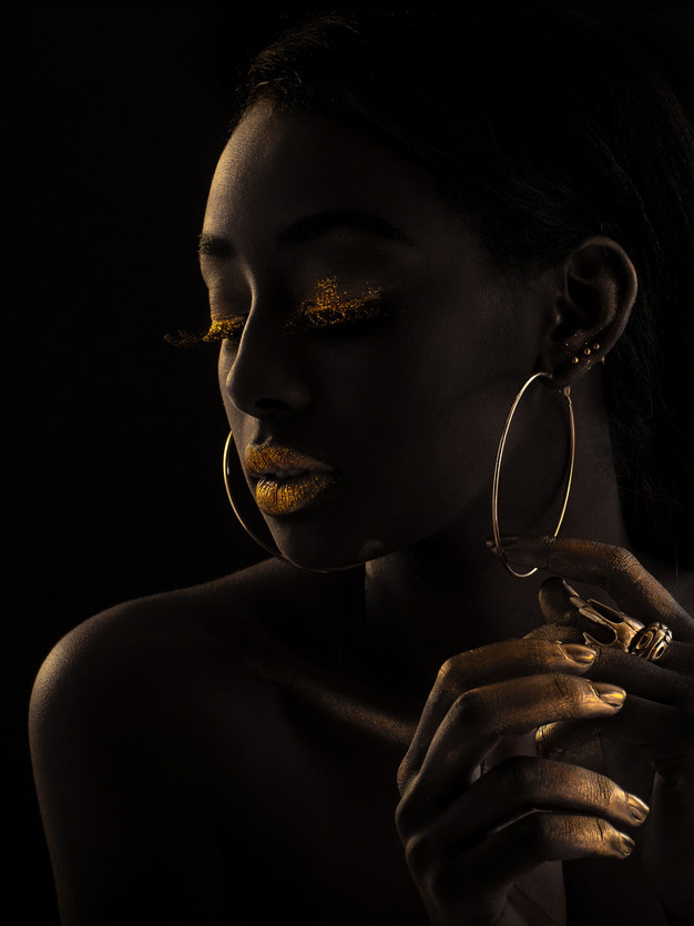 NEWl- Dark Skin Beauty Retouhcing