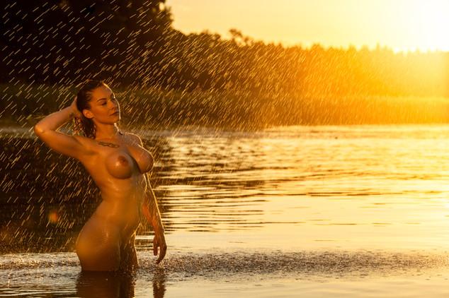 Beautify Panel Swedish Sunset Nude Retouching