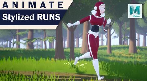Learn Stylized Run In Maya.jpg