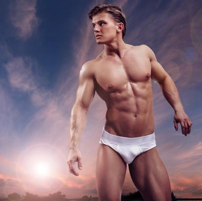 Men Underwear Phootoshoot