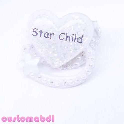 Star Child - White & Soft Baby Blue