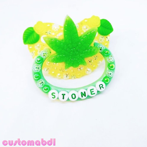 S Leaf - Yellow & Green