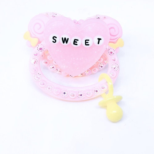 Sweet w/Charm - Pink & Yellow