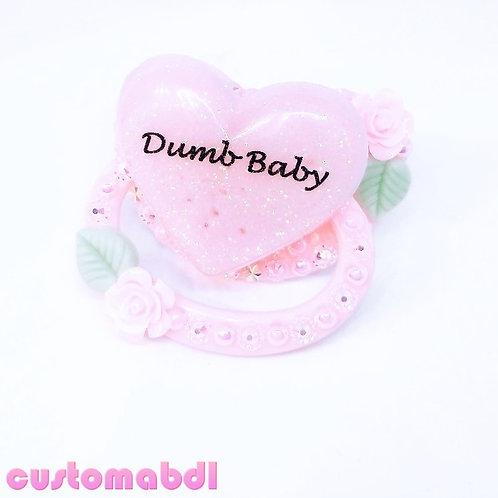 D Baby Heart - Pink