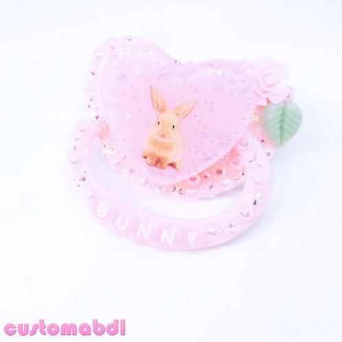 Bunny Heart - Pink