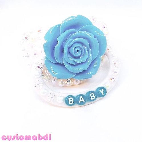 Baby La Fleur - White & Blue
