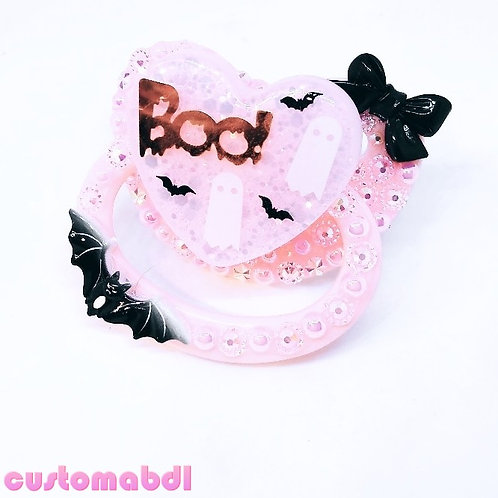 Boo - Pink & Black