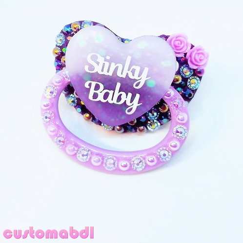 S Baby Heart - Purple & Lavender