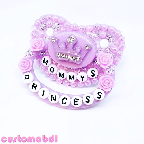 M's Princess w/Roses - Lavender