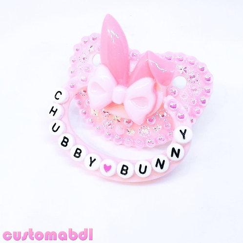 """PINK CHUBBY BUNNY"""