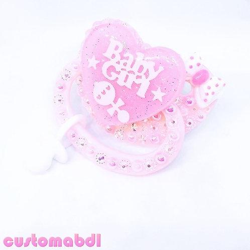 BG w/Charm - Pink & White
