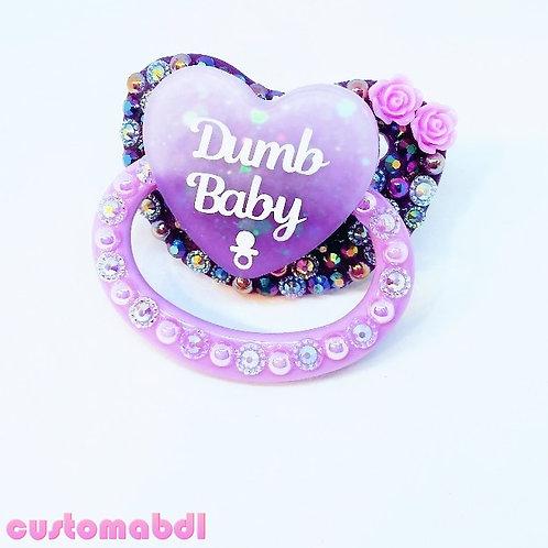 D Baby Heart - Purple & Lavender