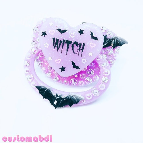 Witch - Lavender & Black