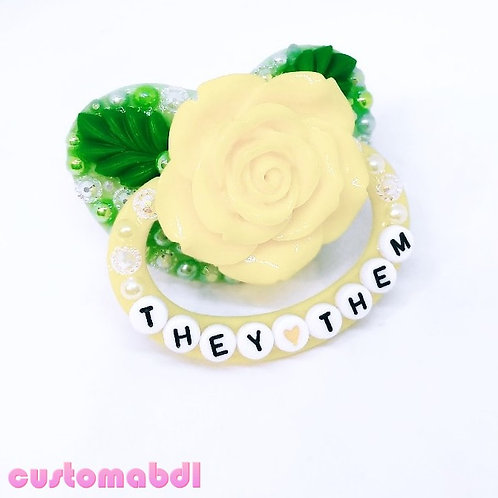 They/Them La Fleur - Yellow & Green