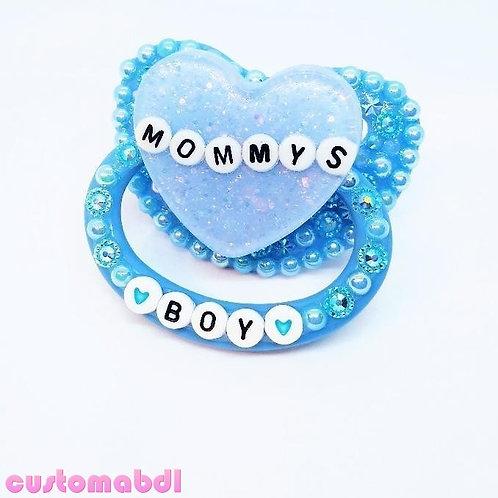 M's Boy Heart - Baby Blue