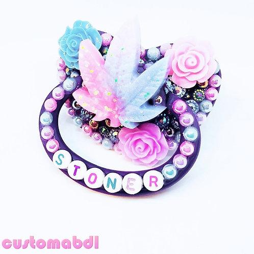 ST Leaf - Purple, Lavender, Pink & Baby Blue