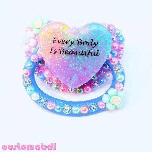 EBIB Heart - Lavender, Baby Blue & Pink
