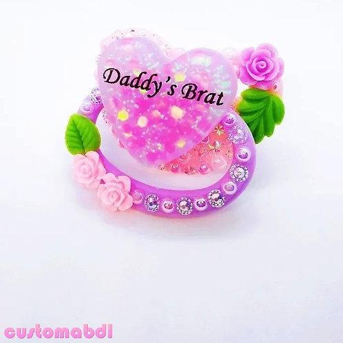D's Brat Heart - Pink & Lavender