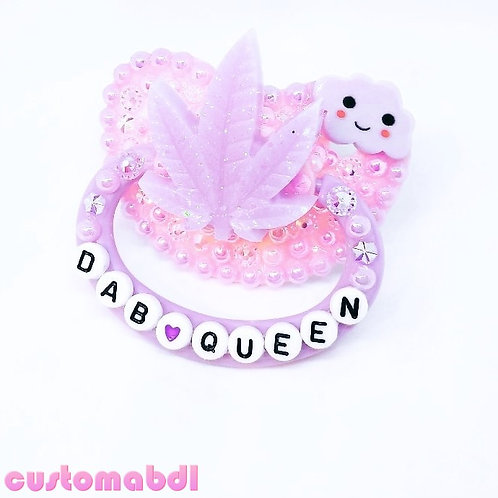 D Queen Leaf - Lavender & Pink