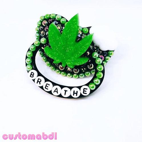 Breathe Leaf - Black, Green & White