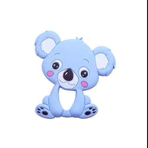 Silcone Teether - Koala - Baby Blue