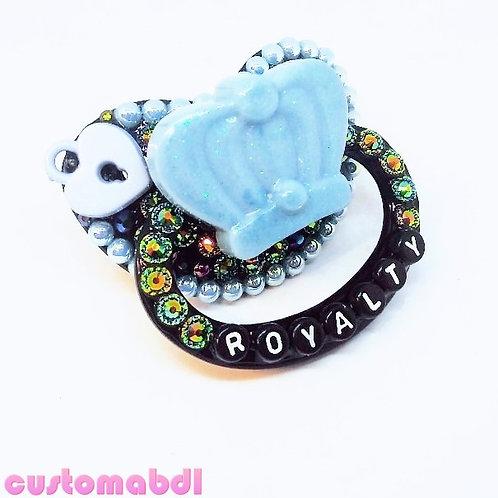 Royalty - Black & Baby Blue