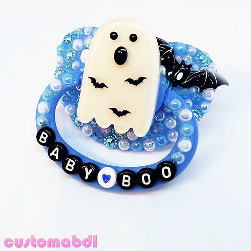 Baby Boo - Blue, White & Black