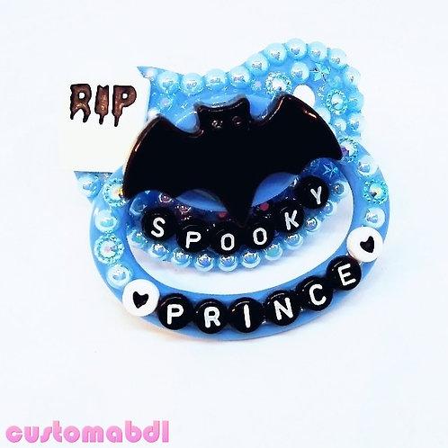 Spooky Prince - Blue, Black & White